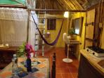 Casitas Kinsol Room #8 - The kitchenette is equipped with a 2-gas-burner