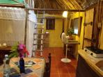 Casitas Kinsol Room #8 - The 'dinning area'