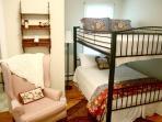 Bedroom 2 - Set of Double Bunks (sleeps 4 - best for children or teens)