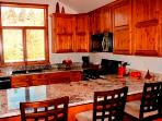 Granite Counter Tops, All New and Fully Equipped Kitchen