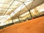 Clay Tennis Courts at the Grand Mayan