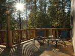 Back deck - accommodates 40 people