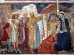 St. Felice and Mauro Abbey - XIV Century Fresco