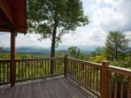 Awesome views from all the deck areas