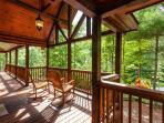 Beautiful outdoor deck space