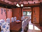 Your dining room in Casa Ana...