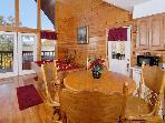Pigeon Forge cabin kitchen