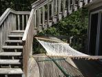 Hammock on the middle deck