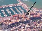 Aerial indicating location