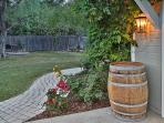 Whimsical wonderful Wine Barrel Cottage