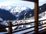 Chalet Spa Verbier - View from the Terrace