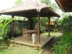 Gazebo for dining, joga, meditation....