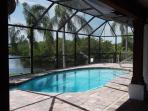 Pool from covered lanai