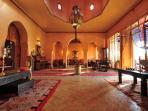 Villa Dar Zina : Salon