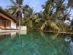 Saltwater infinity pool