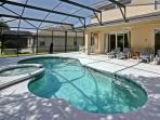 6BR/6BA Disney Villa with Bbq/Pool/Spa/Game/WIFI