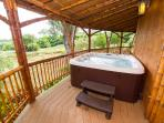 Your hot tub awaits your tired traveling body- and great after the Hana drive!