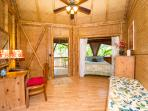 Each bedroom has a dressing room, bedroom and private lanai (deck)