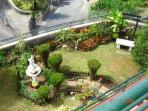 Garden as seen from Apartment