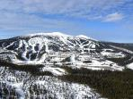 Aerial view of Big White Ski Resort