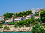 OBZOR holiday apartment on island Ciovo in Croatia