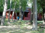 Cabaña setting