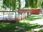 Pool and Cabaña