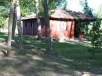 Cabaña park setting