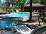 Cabaña and Pool