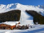 skiing area Fendels apart-franziska.at