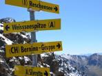Top of Kaunertaler glacier apart-franziska.at