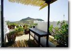 Veranda Terrace is affords privacy as well as a view