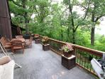 The deck is here for your enjoyment