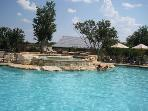 Beautiful upper pool area