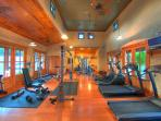 Hollows private workout room