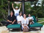 Our staff of villa Bunga Melati