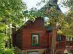 Sherwood Forest Luxury 2 bedroom log cabin