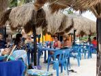 Always a Party at La Playa Xpu Ha Beach