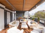 Terrace on rooftop