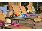 Plenty of relaxing outdoor space