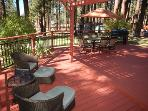 Large Deck and Fully Fenced Back Yard