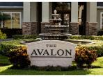 The Avalon front gate