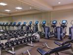 Westin Gym. La salle d'entraînement du Westin