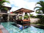 Gazebo by the pool