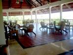 Enjoy lunch on this Clubhouse Terrace overlooking the Golf Course