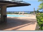 Third pool w/shaded pavillion