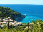 Fantastic view of Agios Nikitas Village from Myrto.
