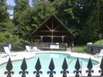Pool for summer fun and beautiful clubhouse for a picnic during most any time of the year!