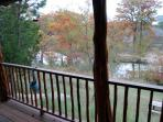 BACK PORCH VIEW OF THE FRIO RIVER