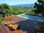 You would love to chill in this pool, amazing panoramic view and a large deck to relax and tan.